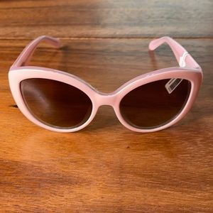 Kate Spade 'Sherrie' 55mm Cat Eye Sunglasses Pink